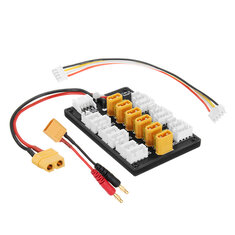 XT30 1S-3S Plug Parallel Charging Board For IMAX B6 ISDT XT60 Plug Charger