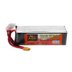 ZOP POWER 22.2V 3300mAh 60C 6S Lipo Battery With XT60 Plug For RC Models