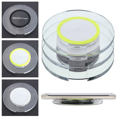 Universal QI Wireless Charger Charging Pad Mat For iPhone Samsung Galaxy S6 Plus Note 5