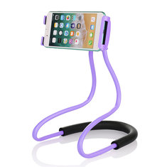 Universal Hanging Neck Long Arm 360 Degree Rotation Lazy Phone Holder for iPhone Xiaomi