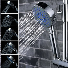 5 Mode Multifunction Chrome Adjustable Water Shower Head