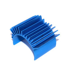 TT01 Blue Aluminium Motor Heat Sink TT-01 53664 For 540 Motor RC Car Parts