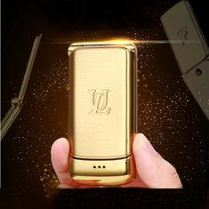 UlcoolV9Самый маленький флип телефон850mAh Whatsapp Bluetooth Dialer FM Dual SIM Мини карт телефон
