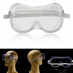 Protection Goggles Eye Protective Safety Glasses Anti Fog Clear