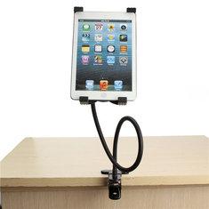 Gooseneck 360 ° Вращающаяся ленивая настольная подставка для настольного компьютера Держатель кронштук(а)�йна для iPad 2/3/4 Air 5 '' - 9,5 '' Tablet PC