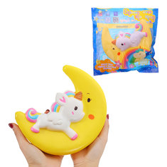 Risultati immagini per banggood Unicorn Squishy 12*6.5*5CM Slow Rising With Packaging Collection Gift Soft Toy
