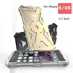 Original Simon Powerful Shockproof Aluminum Cover Screw Ironman Metal Case for iPhone 6 6S 4.7Inch