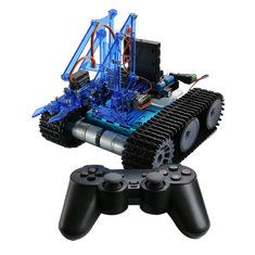 Mearm DIY Robot Tank Toys Chassis Kit With Ardunio Board PS Wireless Remote Control - Mearm-DIY-Robot-Tank-Toys-Chassis-Kit-With-Ardunio-Board-PS-Wireless-Remote-Control , Mearm DIY Robot Tank Toys Chassis Kit With Ardunio Board PS Wireless Remote Control