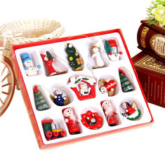 Christmas Halloween Party Home Decoration Wooden Handicrafts Toys For Kids Children Gift