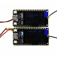 2Pcs LORA32 868Mhz ESP32 bluetooth WIFI With Antenna