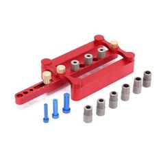 Self Centering Dowelling Jig Metric Dowel 6/8/10mm Drilling Tools for Wood Working