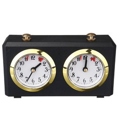 Electronic Analog Chess Clock Timer I-GO Count Up Down Alarm Timer For Game Competition