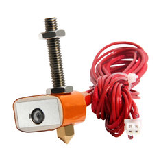 Geeetech® 12V 40W Hotend Kit 1.75mm 0.3mm Copper Nozzle Extruder For 3D Printer