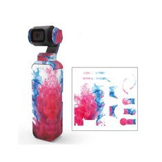 Colorful/Camouflage Decals Camera Protective Film Skin Waterproof Stickers For DJI OSMO Pocket Handheld Gimbal Accessories