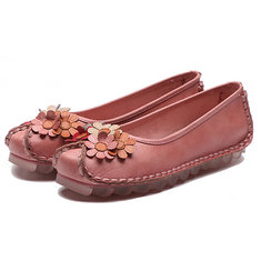 8d748206dc77 Retro Handmade Flat Loafers