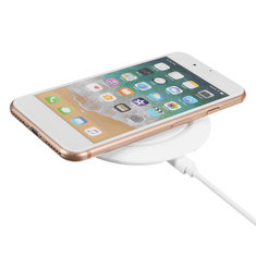 Baseus 10W QI Wireless Fast Charging Charger Pad For iPhone X 8/8Plus Samsung S8 Apple Watch 3