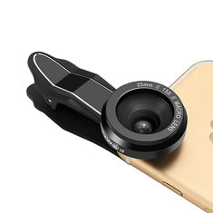 BlitzWolf® BW-LS2 Camera Lens 15X Macro Lens 25mm Microscope Photography Phone Lens with Clip
