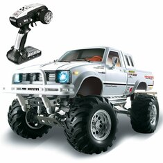 HG P407 1/10 2.4G 4WD Rally Rc Car TOYATO Metal 4X 4 Pickup Truck Rock Crawler RTR Toy