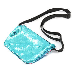 Sparkling Sequins Mermaid Makeup Bag Handbag Belt Glitter Wallet Purse Handbag Comestic Case