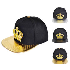 Women Snapback Hats Crown KING Baseball Caps Men Adjustable Hip-hop Hats