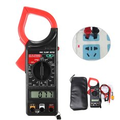 Current clamp meter buy cheap current clamp meter from banggood dt266c digital clamp meter multimeter ac dc current volt resistance tester temperature tester fandeluxe Image collections