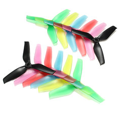 10 Pairs Racerstar 5042 5x4.2x3 3 Blade Propeller 5.0mm Mounting Hole For RC Drone FPV Racing Multi Rotor
