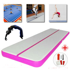 196.85x19.69x3.94inch PVC Air Track Inflatable Gymnastics Mat Yoga Fitness Training Pads + Repair Kits