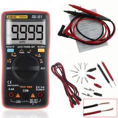 ANENG AN8009 True RMS NCV Digital Multimeter 9999 Counts Backlight AC/DC Current Voltage Resistance Frequency Capacitance Temperature Tester �/℉