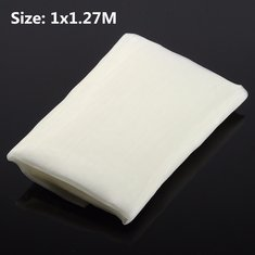 100x127cm White Silk Screen Printing Fabric Cloth 110 Mesh 43T