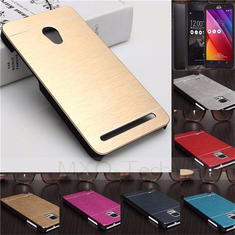 Brushed Metal Hard Cover Case For Asus Zenfone 2 ZE550ML ZE551ML 5.5 Inch