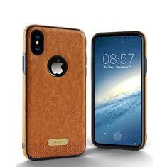 Business Leather Pattern Soft TPU Case For iPhone X/8/8 Plus/7