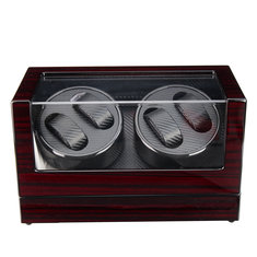 Automatic Watch Winder Carbon Fiber Jewelry Storage Case Watches Display Box 2 Unites - Automatic-Watch-Winder-Carbon-Fiber-Jewelry-Storage-Case-Watches-Display-Box-2-Unites , Automatic Watch Winder Carbon Fiber Jewelry Storage Case Watches Display Box 2 Unites , banggood.com
