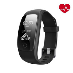 ID107 PLUS HR 0.96 Inch GPS Anti-Lost Heart Rate Monitor Smart Wristband Bracelet Fitness Tracker