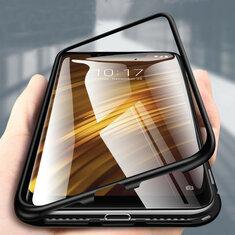 Bakeey360°МагнитнаяАдсорбцияМеталла Закаленное Стекло Защитная Флип Чехол для Xiaomi PocophoneF1