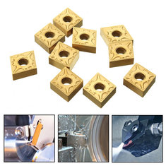 10pcs CNMG-431-MA Carbide Inserts Cutter For Turning Tool Holder Boring Bar