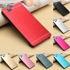 Ultra Brushed Metal Hard Cover Case For Sony Xperia Z1 Compact