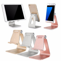 Universal Adjustable Anti-slip Aluminum Desktop Stand Charging Holder For iPhone Samsung iPad Chuwi