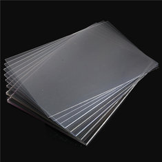 420×297mm Clear Polycarbonate Panel Cutting Carving Plate 1-10mm