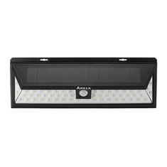 ARILUX® PL-SL 10 Solar Power 6W 54 LED PIR Sensor Light Outdoor Waterproof Wide Angle Wall Lamp