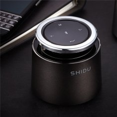 SHIDU T2 Portable Touch Button TF Card Hands-free Wireless bluetooth 4.0 Speakers With Mic