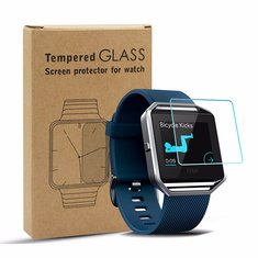 3 PCS Premium Tempered Glass Protective Film Smarrt Watch Screen Protector for Fitbit Blaze
