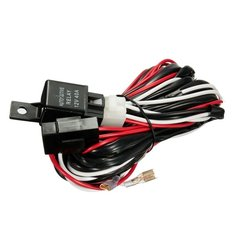 12V 40A 300W Relay Fuse Wiring Harness For Any 5-Pin LED Light Rocker Switch
