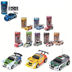 1PC FengQi Toys 8803 1/63 Radio Control Coke Mini Rc Car Micro Racing Vehicle Random Color