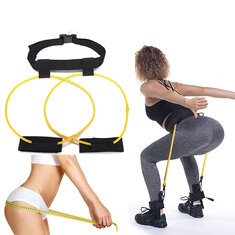 KALOAD Women 120 cm 10lb Hip Butt Booty Belt Band Body Muscles Trainer Body Lifter Exercise Tools