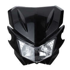 12V H4 Universal Motorcycle Head Light For Yamaha Dual Sport Street Fighter Dirtbike