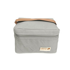 Waterproof Portable Picnic Insulated Zipper Storage Box Tote Lunch Bag Travel Supplies Oxford Cloth