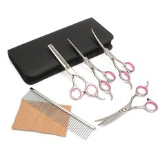 Professional Pet Dog Hair Cutting Scissors 6