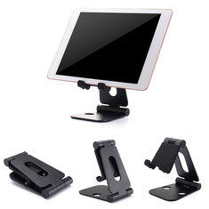 Aluminum Double Folding Bracket Stand For Smartphone Tablet