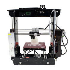MY-2 Black/Red/Green/Yellow High Precision Desktop DIY 3D Printer 210 * 210 * 210mm Printing Size 1.75mm 0.4mm Nozzle