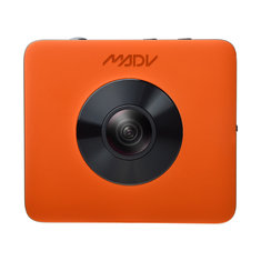 Xiaomi Mijia MadVenture Sport Camera 4K 360 Degree Orange Ultra HD 3840x1920 30fps